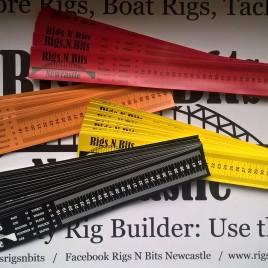 Rigs N Bits Newcastle Self Adhesive fish measure – Sea Fishing Fish Measure