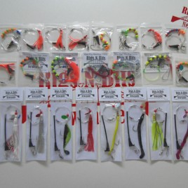 Sea fishing Rig Pack, 25 Boat rigs – Deep Sea Boat Rigs – Ling Cod Pollack