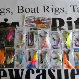 Sea fishing Boat Pack – 21 Boat Rigs – Quality Boat rigs – Drift fishing, wrecks
