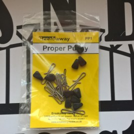 Breakaway Proper Pulley Clips, Pulley Beads